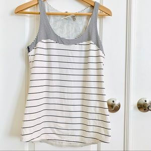 Lululemon Athletica Tank Top with Stripes, 8